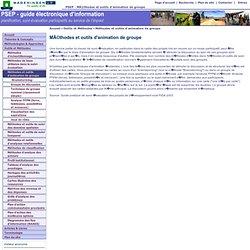 PSEP - Méthodes et outils d'animation de groupe