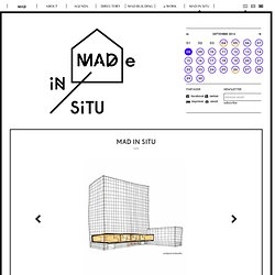 MAD Brussels ⋅ MAD in situ