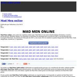 Mad Men Online
