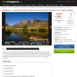 Randonnée 21 jours Madagascar découverte des Tsingy