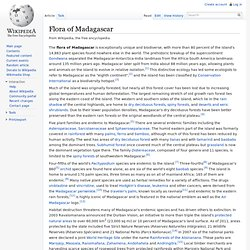 Flora of Madagascar
