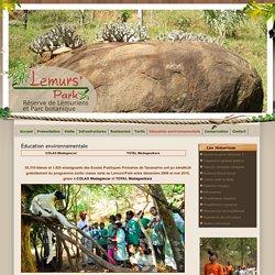 Lémuriens à Madagascar Éducation environnementale