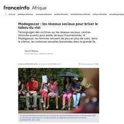 Madagascar : les réseaux sociaux pour briser le tabou du viol