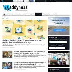 Outils - Maddyness, le magazine des startups françaises