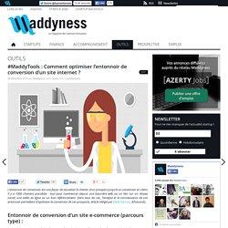 #MaddyTools : Comment optimiser l'entonnoir de conversion d'un site internet?