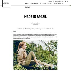 Made in Brazil : Fashion Revolution