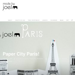Paper City Paris!