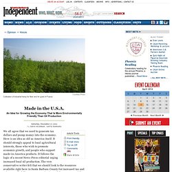 The Santa Barbara Independent Made in the U.S.A.