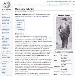 Madeleine Pelletier