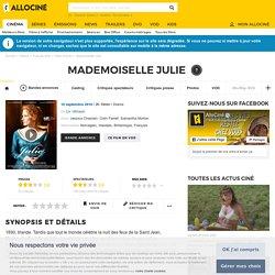 Mademoiselle Julie - film 2014