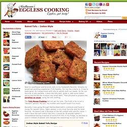 Indian Style Baked Tofu Recipe