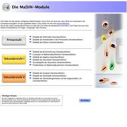 MDin Module - Inhalte