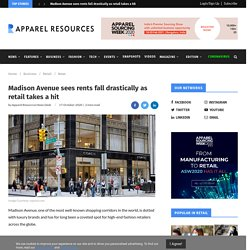 Madison Avenue sees rents fall drastically as retail takes a hit