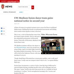 UW-Madison fusion dance team gains national notice in second year