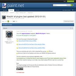 MadJik' all plugins (last updated: 2012-01-01) - Plugins - Publishing ONLY!