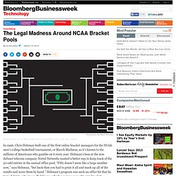 The Legal Madness Around NCAA Bracket Pools