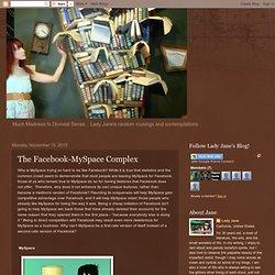 The Facebook-MySpace Complex