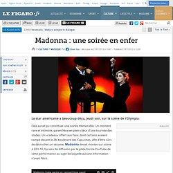 Musique : Madonna : une soirée en enfer