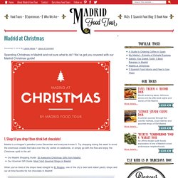 Madrid at Christmas - Madrid Food Tour