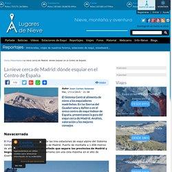 La nieve cerca de Madrid: dónde esquiar en el Centro de España