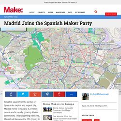 This is a page for you to go to a Party in Madrid Spain