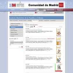 guias de familia. Comunidad de Madrid