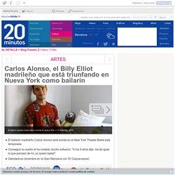 Carlos Alonso, el Billy Elliot madrileño que está triunfando en Nueva York como bailarín