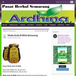 Madu Arab Al Shifa Semarang » Toko Herbal Semarang