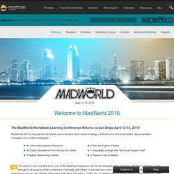 Welcome: MadWorld 2013