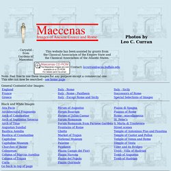 Maecenas: General Contents