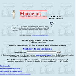 Maecenas: Images of Ancient Greece and Rome