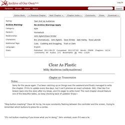 Clear As Plastic - Milky Maelstrom (milkymaelstrom)