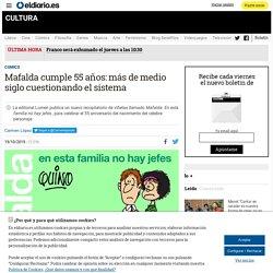 Mafalda cumple 55 años: más de medio siglo cuestionando el sistema