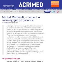 Michel Maffesoli, « expert » sociologique de pacotille