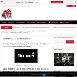 Mafia sicilienne : Cosa Nostra