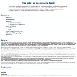 Mag arts : La question du dessin