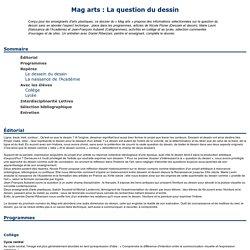 Mag arts : La question du dessin