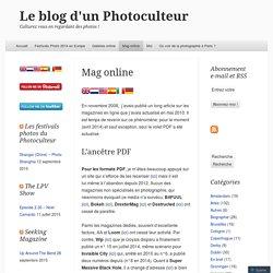Mag online « Le blog d'un Photoculteur