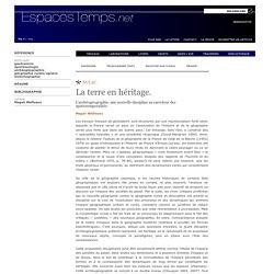 Magali Watteaux : La terre en héritage.