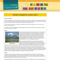 XII Región: De Magallanes y Antártica Chilena