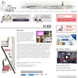 Magasin Merci Paris-boutique Merci paris-merci