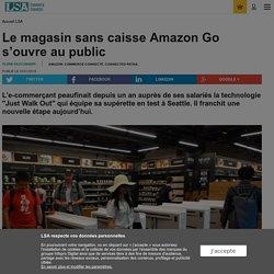 Le magasin sans caisse Amazon Go s'ouvre au...