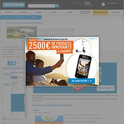 Magasin Decathlon REDON - 18 Avenue Jean Burel 44460 Saint Nicolas de Redon - decathlon.fr
