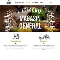 Magasin Général - Epicerie bio Bordeaux