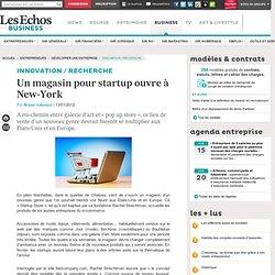 Un magasin pour startup ouvre à New-York