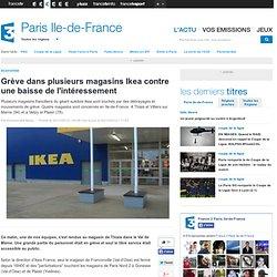 Grève dans plusieurs magasins Ikea contre une baisse de l'intéressement