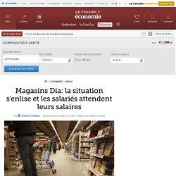Magasins Dia: la situation s'enlise et les salariés attendent leurs salaires
