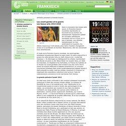 France - Magazine l'Allemagne et la France - Artistes pendant la Grande Guerre -Goethe-Institut