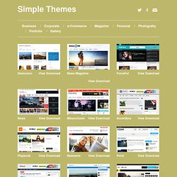 Magazine Archive - Simple Themes