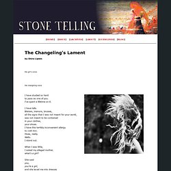 Stone Telling: The Magazine of Boundary-crossing Poetry